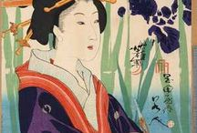 浮世絵, 日本画
