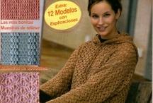 revistas de tejido / by Adriana Vargas Reichert