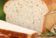 Dat's fresh, dough! / Home made breads, etc.!