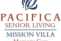 Mission Villa Memory Care / Mission Villa Memory Care offers full-service memory care services, providing a warm, inviting and familiar environment for residents with Alzheimer's disease and other forms of dementia. Our community focuses on programs that help individuals with memory loss to even thrive—while managing the issues of dementia.