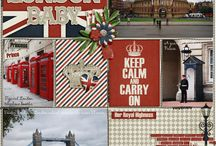 London Scrapbook Ideas