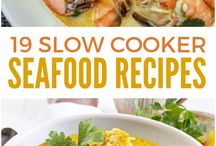 Seafood in the Slow Cooker / Delicious and easy seafood, fish, and shellfish recipes for the crockpot!