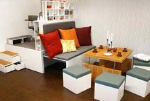 Small Space Decorating Ideas / Designs and ideas to help you maximize a small space.  / by Elaine Montecillo