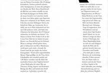 Editorial design: double page spread magazine article
