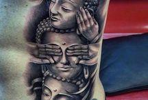 Buddha tatoeages