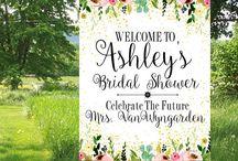 Bridal Shower Custom prints