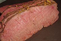 Rind und Schwein Braten / Roastbeef