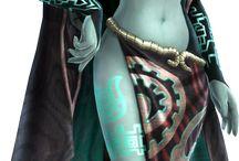 The legend of Zelda Princess Midna