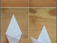 Papir Bretting, Origami osv..