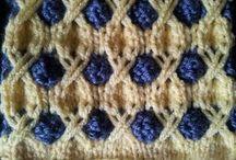 crochet, points, couvertures, châles, etc.