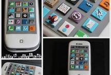 mobile phone cakes