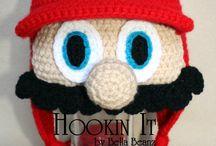 Crochet - hats and kids scarfs / by Wendy Van de Wege