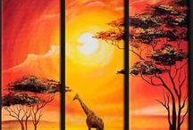 sıcak afrika