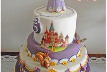 Disney Princess Cakes - Dortíky s princeznami od Disney