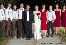Monica Maria bow ties at Weddings / Our customers share their wedding pictures.