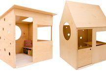 Casetta di legno per bimbi