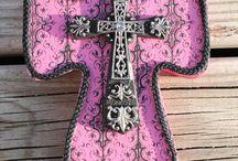 Crosses / by Elizabeth Durrett Wersebe