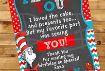 Dr. Suess Theme Party