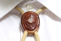 Cosmizi Avocado Bolo ties / A board about beautiful Bolo ties from Avocado stones!
