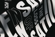 poster / typography