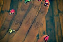 My own nail or make-up design