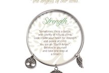 Earth Angels / Featuring our very popular Earth Angel bracelet collection.