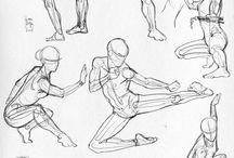 ilustração de combate