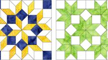 Quilting - English Paper Piecing / Quilting via English paper piecing, or #EPP