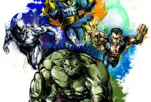 Marvel Comics Universe / Films, images or covers from Marvel comics