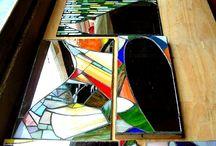 mis espejos 2004 / taller bariloche año 2004. dia de espejos en mosaico.
