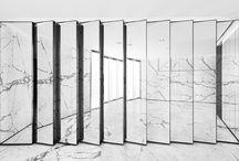 Miroir/marbre