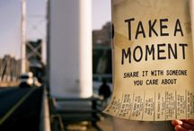 #takeamoment / our tvc and campaign