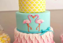 Flamingo Cakes I Like