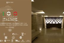 """100 ECCELLENZE ITALIANE_2015 / Massimo Simonetti  is among the protagonists of the volume """"100 Eccellenze Italiane"""" in the interior design section. The volume, published by Dell'Anna Editore, was presented in Montecitorio on December 3rd with the participation of the Comitato d'Onore Tecnico-Scientifico, press and authorities, and it will be distributed in the best bookstores, five-star hotels, Golf Club, airports and some European countries."""