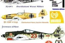 Немецкая техника WWII (самолёты)