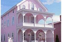 LITTLE PINK HOUSES FOR YOU & ME / by georgia