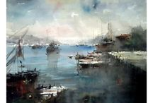 Orthan Gurel-Watercolours