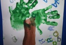 {Classroom} Handprint and Footprint Crafts / Handprint and Footprint Crafts not associated with a holiday or season