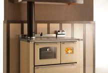 Kitchen / Cucina economica  abbinamenti gas + legna, termocucina, italian ranger cooker,stufe