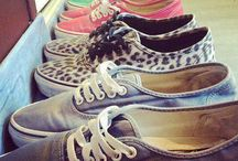 Sneakers / Give a girl the right shoes and she can conquer the world.     {Bette Midler