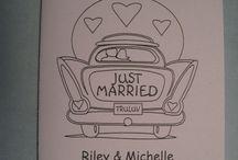Wedding kids activity book