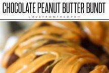 chocolate peanut butter bunt cake