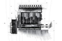 Architectural Drawing / Hand drawings, computer renders, mixed media work and architectural models / by Mark O'Gara
