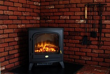 Electric Stoves / Electric stoves are a retro throwback to simpler times that look great and provide supplemental heat for your home.