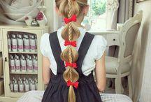 Peinados extra largo