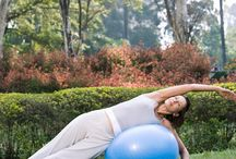 Yoga with Stability Ball