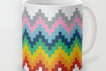 mugs / i love mismatched mugs / by Marie-Andree Brisson