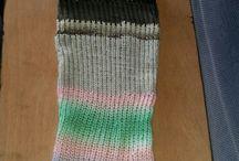 my loom-knittings
