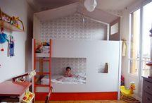 lits des filles de nous / cherche de lits superposés