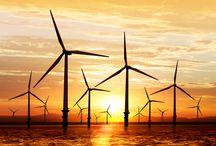 Energía eólica / El cambio hacia un mundo mejor está en ti.